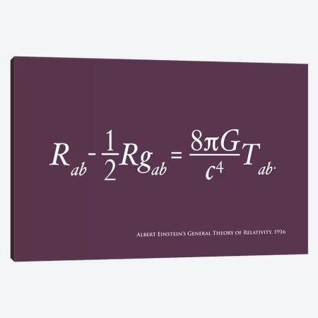 Einstein's Theory of Relativity Canvas Print #12807} by Michael Tompsett Canvas Wall Art