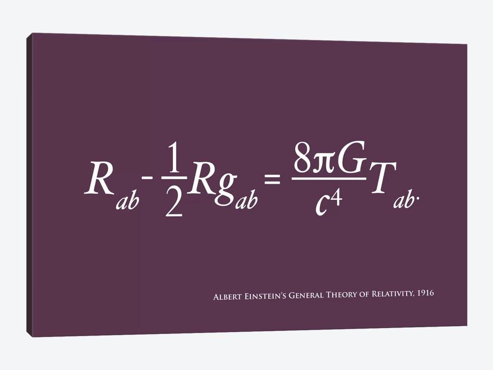 Einstein's Theory of Relativity by Michael Tompsett 1-piece Canvas Artwork