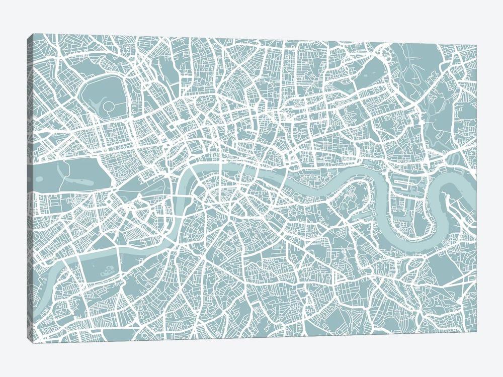 London Map by Michael Tompsett 1-piece Art Print