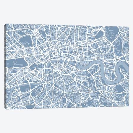 London Map II Canvas Print #12809} by Michael Tompsett Canvas Print