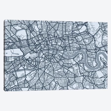 London Map VIII Canvas Print #12815} by Michael Tompsett Canvas Print
