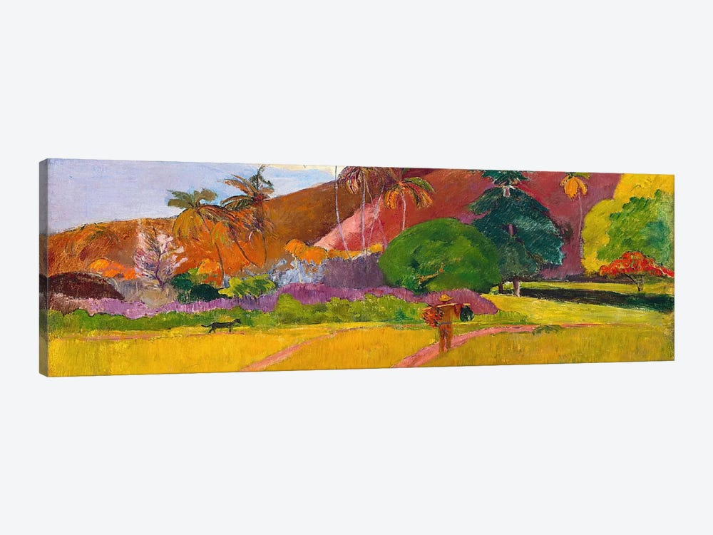 Tahitian Landscape by Paul Gauguin 1-piece Canvas Art