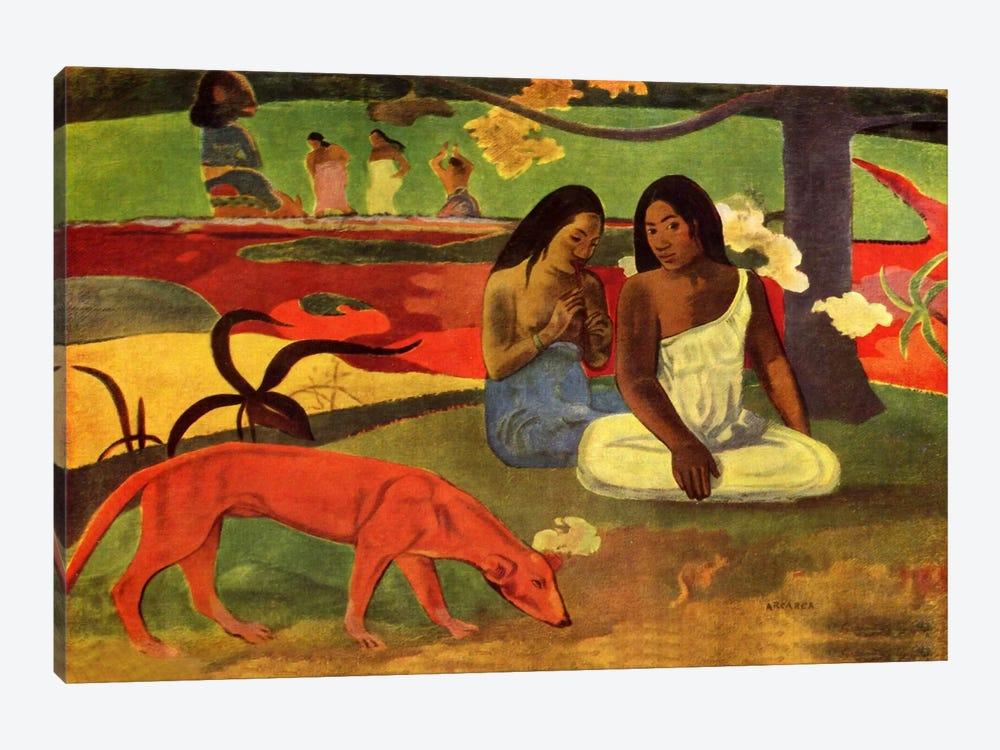 Arearea, 1892 by Paul Gauguin 1-piece Canvas Print