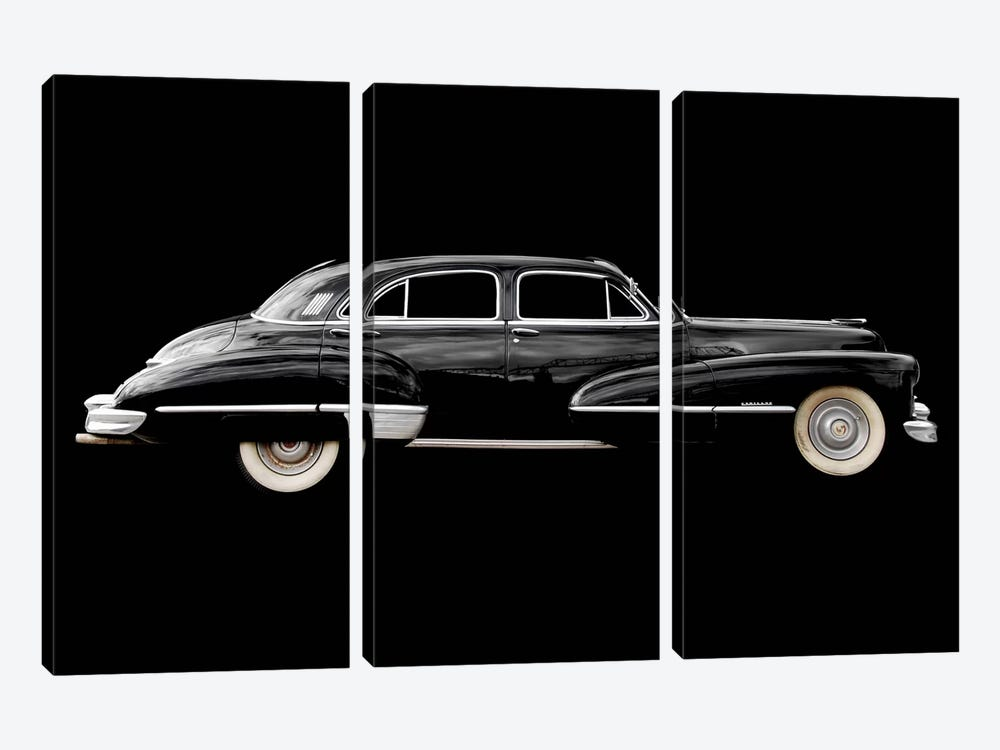 47 Cadillac Fleetwood 3-piece Art Print