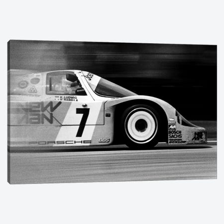 Porsche 956 Racecar Canvas Print #12865} by Unknown Artist Canvas Wall Art