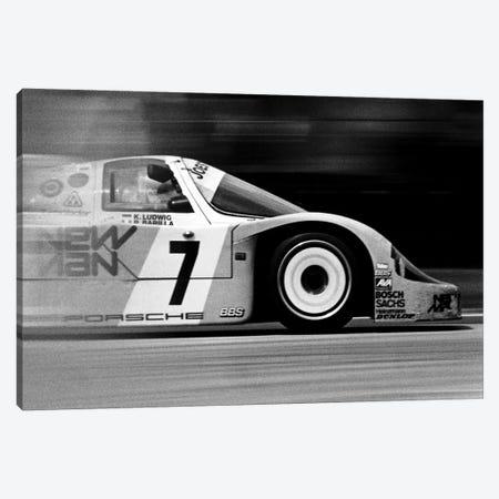 Porsche 956 Racecar Canvas Print #12865} by Unknown Artist Canvas Wall Art
