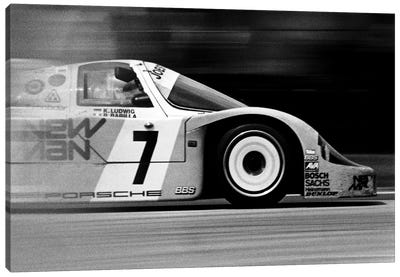 Porsche 956 Racecar Canvas Art Print