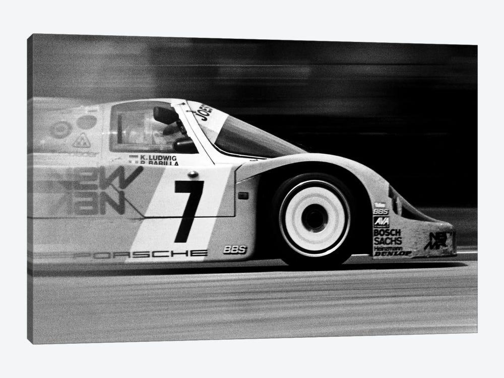 Porsche 956 Racecar by Unknown Artist 1-piece Canvas Wall Art