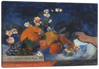 Mona Mona, Savoureux by Paul Gauguin Art Print