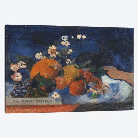 Mona Mona, Savoureux Canvas Print #1290} by Paul Gauguin Art Print