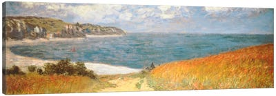 Path Through The Corn At Pourville Canvas Art Print