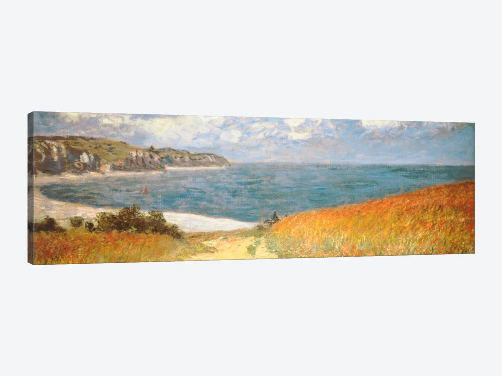 Path Through The Corn At Pourville by Claude Monet 1-piece Art Print