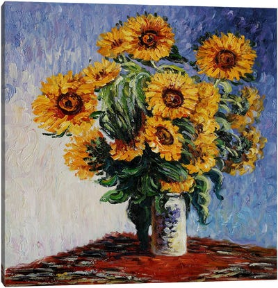 Sunflowers Canvas Art Print