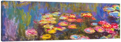 Water Lilies Canvas Art Print