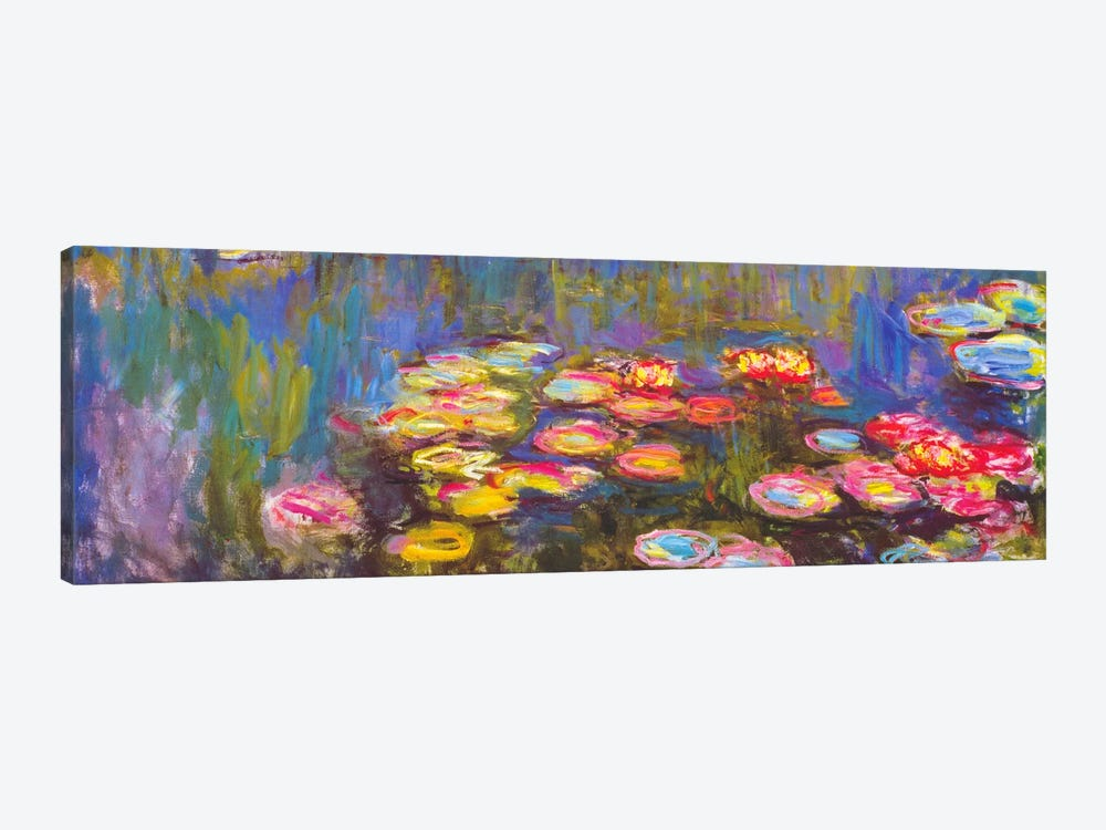 Water Lilies by Claude Monet 1-piece Canvas Art