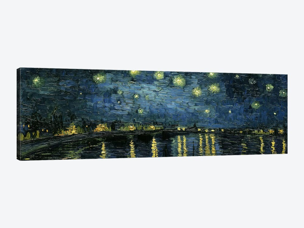 Starry Night Over The Rhone by Vincent van Gogh 1-piece Canvas Wall Art