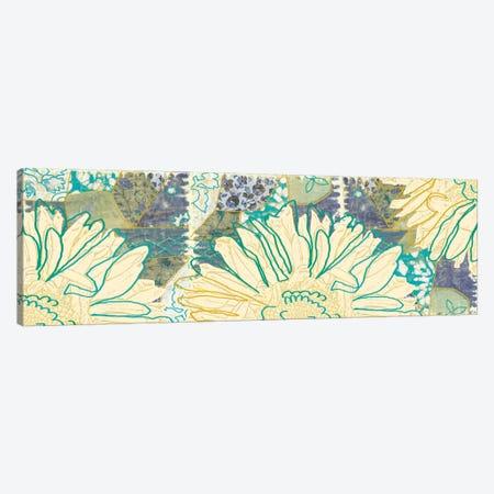 Flower Panel I Canvas Print #13267} by Erin Clark Canvas Art Print