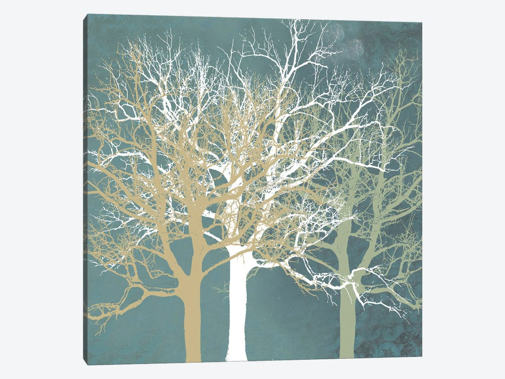 Tranquil Trees by Erin Clark 1-piece Canvas Artwork
