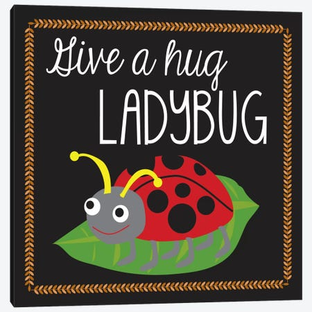 Ladybug Canvas Print #13278} by Erin Clark Canvas Art Print
