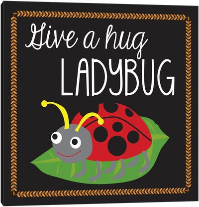 Ladybug by Erin Clark Canvas Art Print