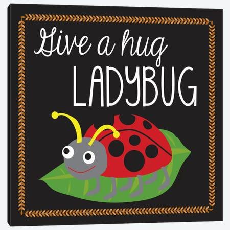 Ladybug 3-Piece Canvas #13278} by Erin Clark Canvas Art Print