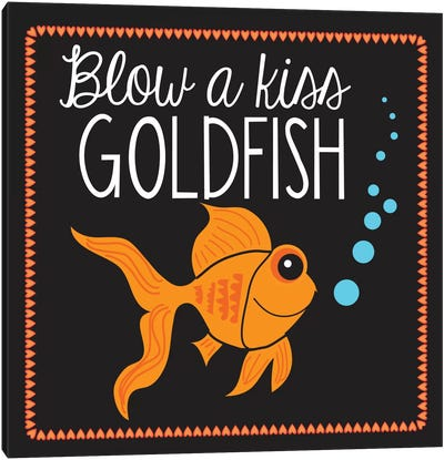 Goldfish by Erin Clark Canvas Art Print