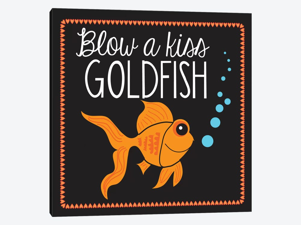 Goldfish by Erin Clark 1-piece Canvas Art Print