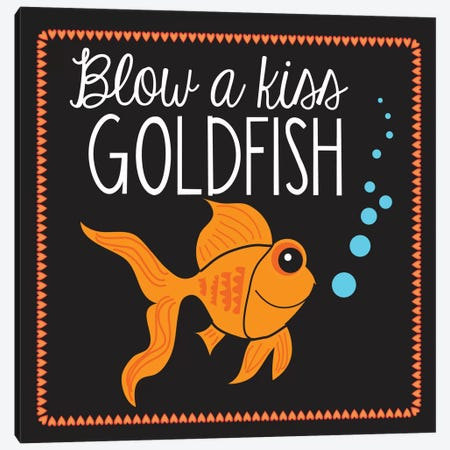 Goldfish 3-Piece Canvas #13279} by Erin Clark Canvas Art Print