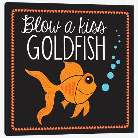 Goldfish Canvas Print #13279} by Erin Clark Canvas Art Print