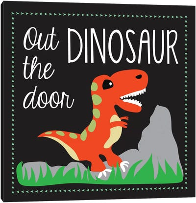 Dinosaur Canvas Art Print