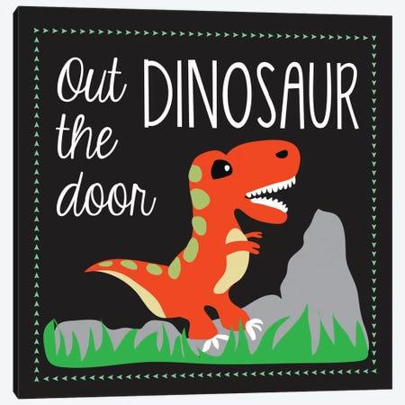 Dinosaur Canvas Print #13280} by Erin Clark Canvas Wall Art