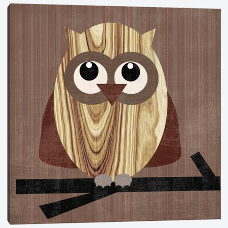 Owl 2 Canvas Print #13284} by Erin Clark Canvas Print