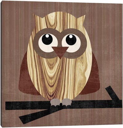 Owl 2 Canvas Art Print