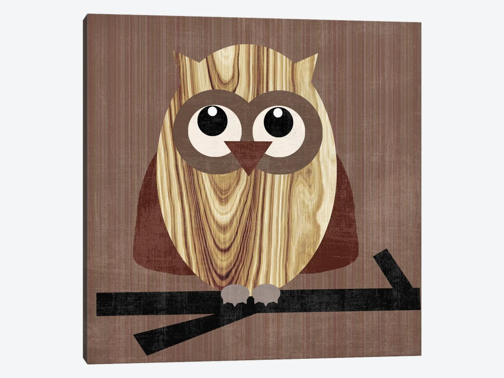 Owl 2 by Erin Clark 1-piece Canvas Print