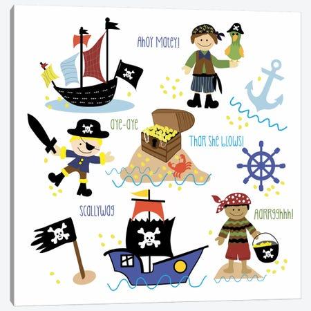 Pirates & Ships Canvas Print #13287} by Erin Clark Canvas Print