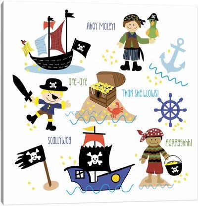 Pirates & Ships Canvas Art Print