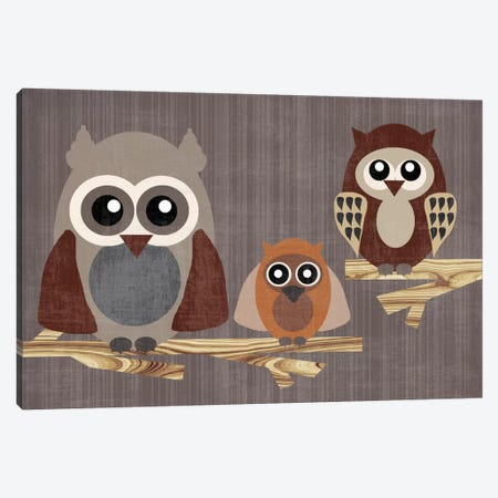 Owls Canvas Print #13290} by Erin Clark Canvas Print