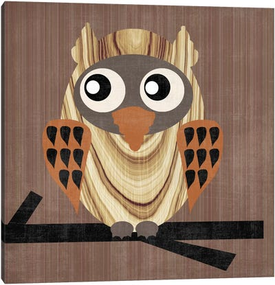 Owl 1 Canvas Art Print