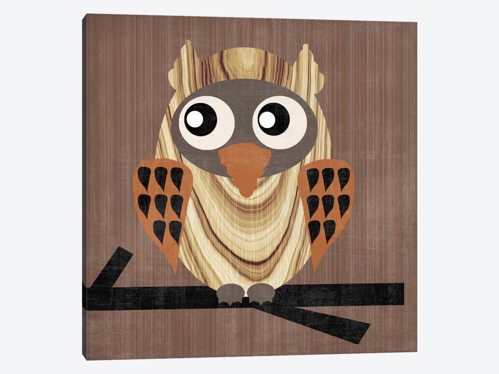 Owl 1 by Erin Clark 1-piece Canvas Art Print