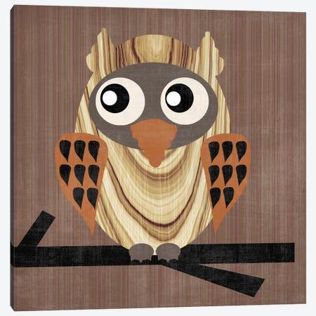 Owl 1 Canvas Print #13291} by Erin Clark Canvas Art Print
