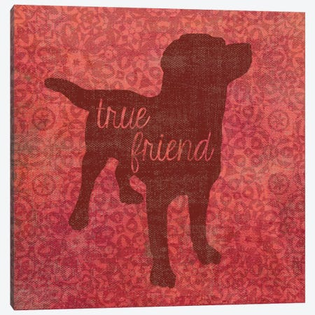 Inspirational Quotes - Dog Canvas Print #13295} by Erin Clark Canvas Wall Art