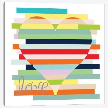 Rainbows Of Inspiration - Love Canvas Print #13298} by Erin Clark Canvas Print