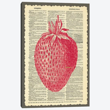 Strawberry Canvas Print #13304} by Erin Clark Canvas Art