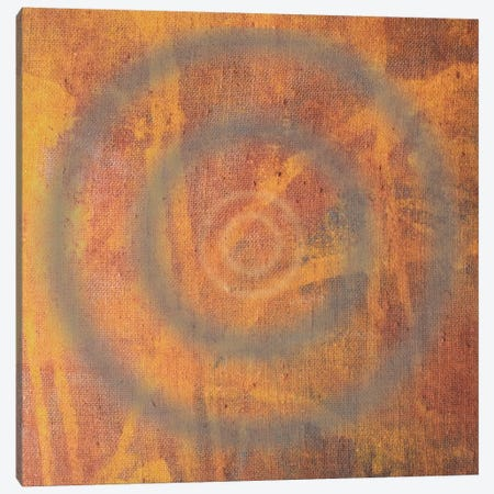 Circle I Canvas Print #13305} by Erin Clark Canvas Artwork