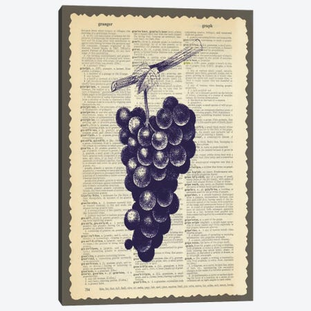 Grapes Canvas Print #13307} by Erin Clark Canvas Artwork