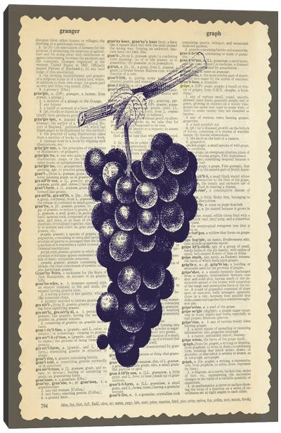 Grapes Canvas Art Print