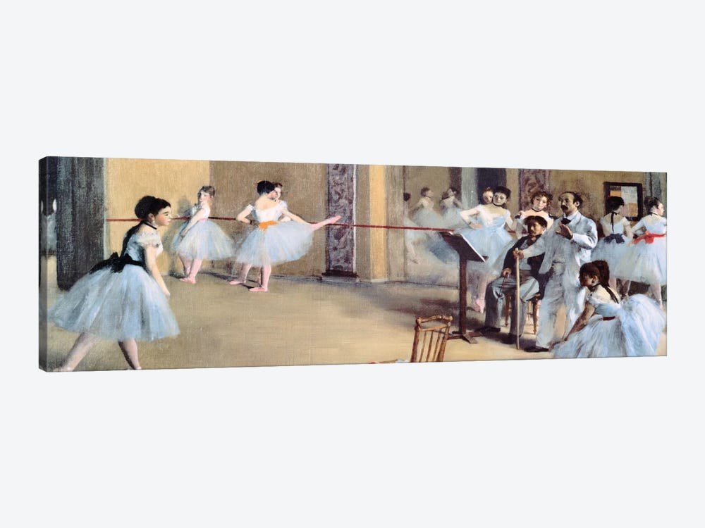 The Dance Foyer At The Opera by Edgar Degas 1-piece Art Print