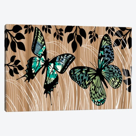 Butterfly Patchwork Canvas Print #13310} by Erin Clark Canvas Art