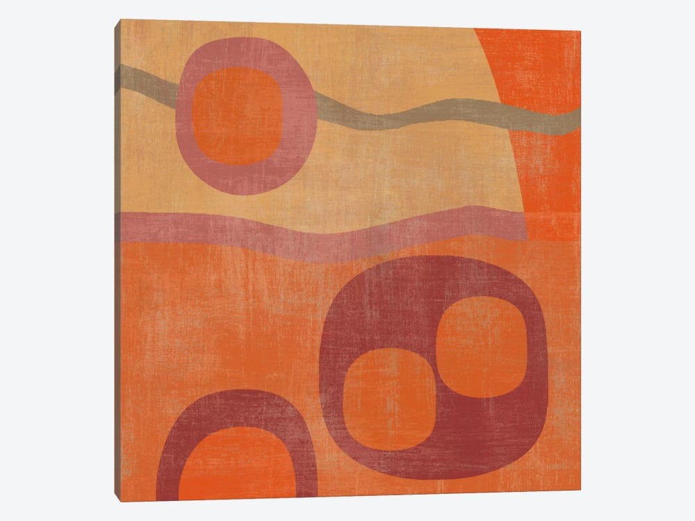 Abstract III by Erin Clark 1-piece Canvas Artwork