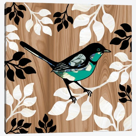 Bird Patchwork II Canvas Print #13312} by Erin Clark Canvas Wall Art